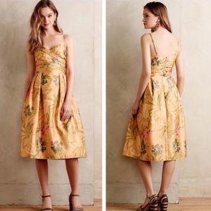 Anthropologie James Coviello Floral Dress Size 2